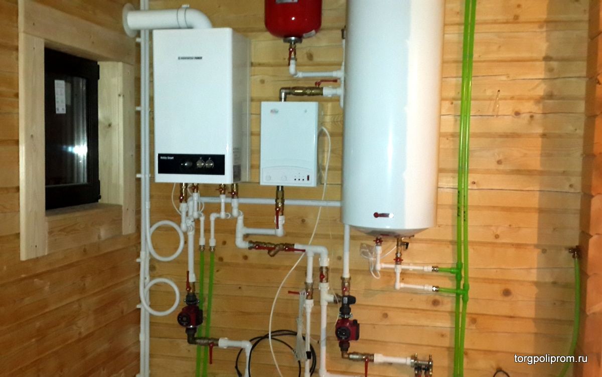 Отопление загородного дома под ключ: цена