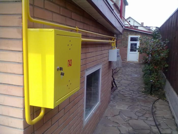 Подключение газа к частному дому 2018