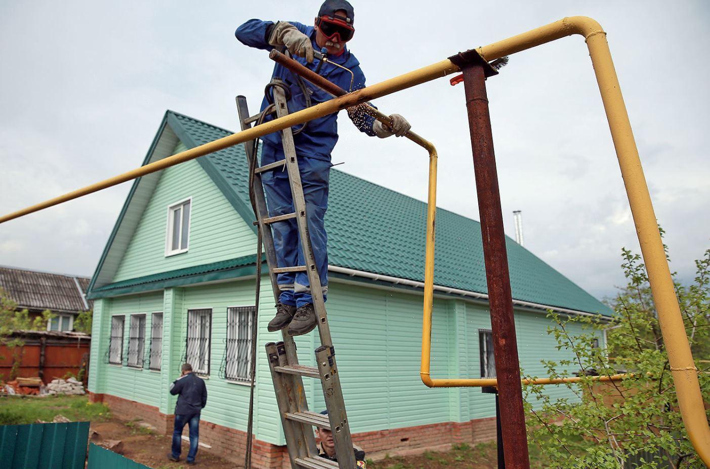 Подключение газа в деревне Московской области